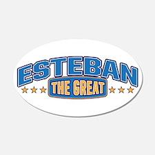 The Great Esteban Wall Decal