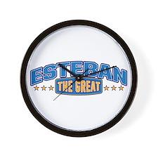 The Great Esteban Wall Clock