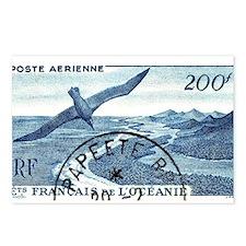 1948 French Polynesia Seabird Postage Stamp Postca