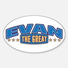 The Great Evan Decal