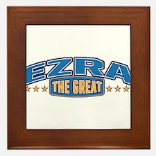 The Great Ezra Framed Tile