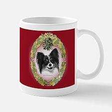 Papillon Christmas Mug