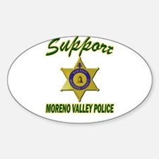 Moreno Valley Police Support Decal