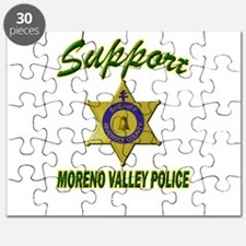Moreno Valley Police Support Puzzle