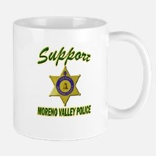 Moreno Valley Police Support Mug