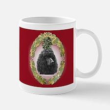 Poodle Christmas Mug