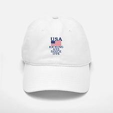 USA Kicking Ass Since 1776 Baseball Baseball Cap