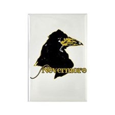 Poe's Raven by Manet Rectangle Magnet