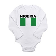 Nigeria Flag Body Suit