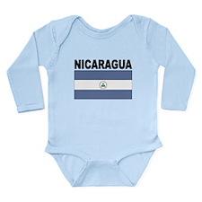 Nicaragua Flag Body Suit