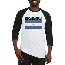 Nicaragua Flag Baseball Jersey