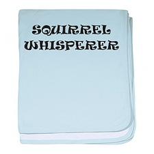 Squirrel Whisperer baby blanket