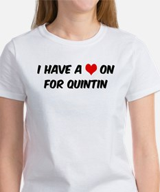 Heart on for Quintin Tee