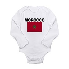 Morocco Flag Body Suit