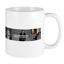 Presidential quotes vs Obama Mug