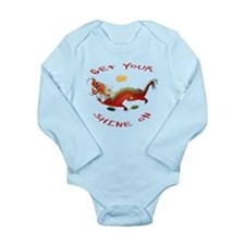 Get Your Shine On Dragon Body Suit
