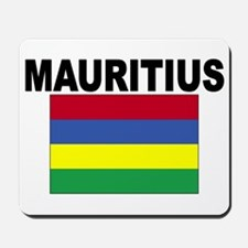 Mauritius Flag Mousepad