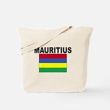 Mauritius Flag Tote Bag