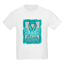 PCOS Hope Butterfly Shirts T-Shirt