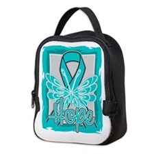 PCOS Hope Butterfly Shirts Neoprene Lunch Bag