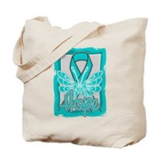 PCOS Hope Butterfly Shirts Tote Bag