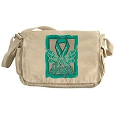 PCOS Hope Butterfly Shirts Messenger Bag