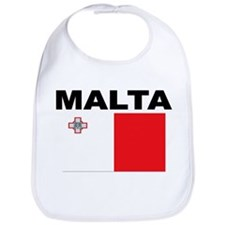 Malta Flag Bib