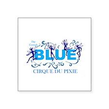 Cornish blue pixies - Cirque du Pixie Sticker