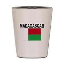Madagascar Flag Shot Glass