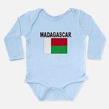 Madagascar Flag Body Suit