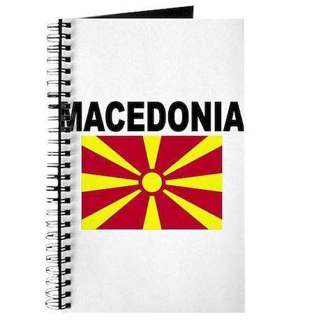 Macedonia Flag Journal
