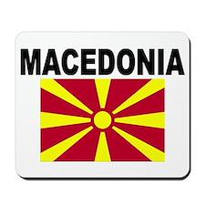 Macedonia Flag Mousepad