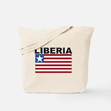 Liberia Flag Tote Bag