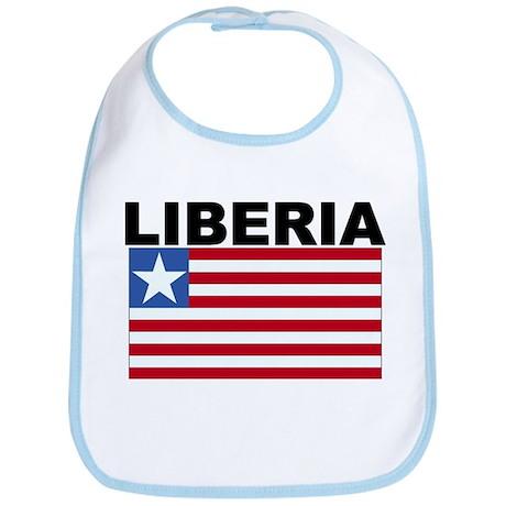 Liberia Flag Bib