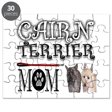 cairn terrier coloring pages - cairn terrier mom puzzle by uniqueanimaldesigns