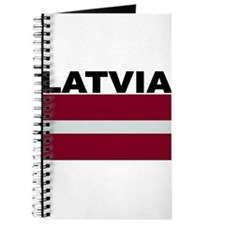 Latvia Flag Journal