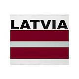 Latvia Blankets