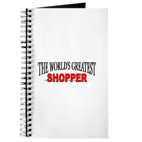 """""""The World's Greatest Shopper"""" Journal"""