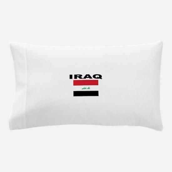 Iraq Flag Pillow Case