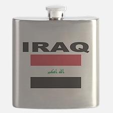 Iraq Flag Flask