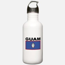 Guam Flag Water Bottle