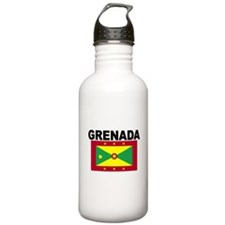 Grenada Flag Water Bottle
