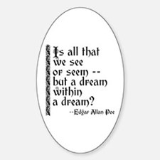 POE A Dream Within Decal