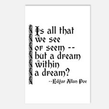 POE A Dream Within Postcards (Package of 8)