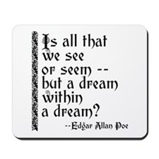 POE A Dream Within Mousepad