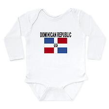 Dominican Republic Flag Body Suit