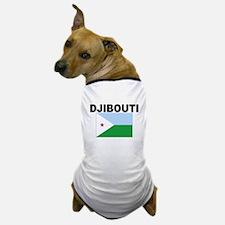 Djibouti Flag Dog T-Shirt