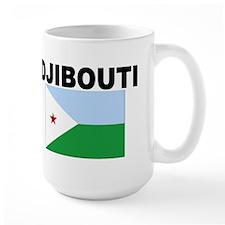 Djibouti Flag Mug