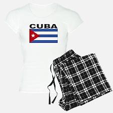 Cuba Flag Pajamas