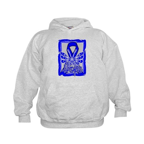 Huntington Disease Hope Kids Hoodie